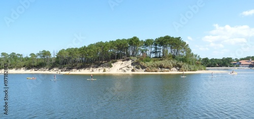 lac souston, landes Wallpaper Mural