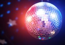 Sparkling Disco Ball. Concept ...