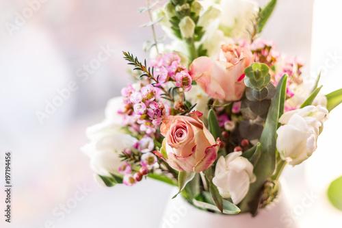 Blumenstrauß Fotobehang
