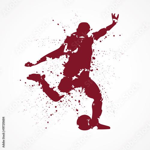 Footballeur-tâches-rouge-2 © lil_22
