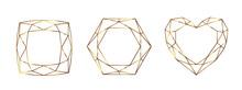 Set Of Geometrical Polyhedrons...