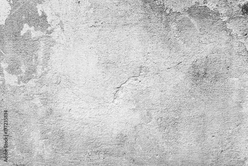 Poster de jardin Metal Wall fragment with scratches and cracks