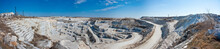 Panorama Of A Large Quarry For...
