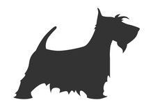 Scotch Terrier Silhouette Bree...