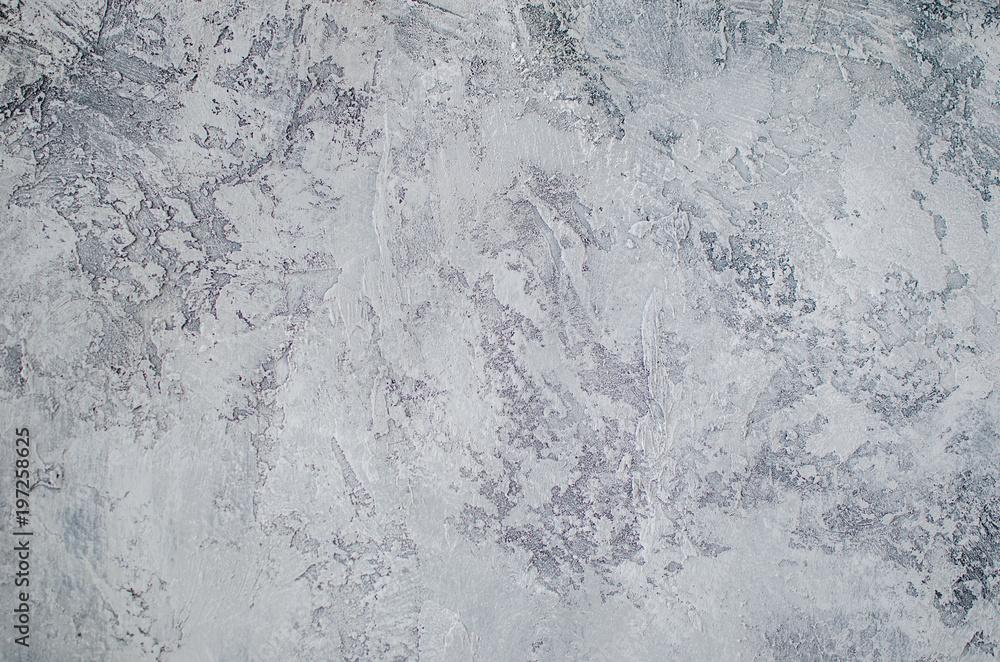 Fototapety, obrazy: texture gray putty, concrete, grange