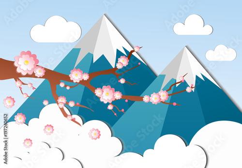 ilustracja-wektorowa-japonskiej-wisni-sakura