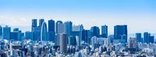 新宿副都心の高層ビル ワイド