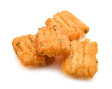 Japanese Seaweed Rice Crackers Background