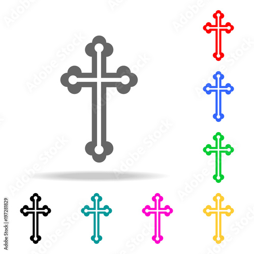 Elements Of Religion Multi Colored Icons Premium Quality Graphic Design Icon