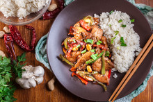 Kung Pao Chicken With Peppers ...