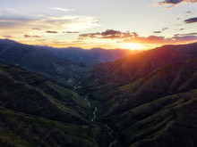 Summer Mountains In Lesotho