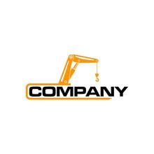 Crane Logo Vector