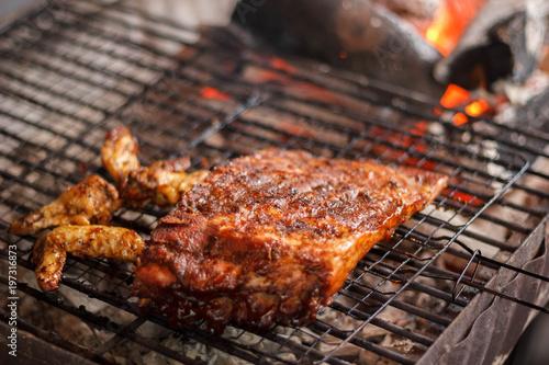 Recess Fitting Grill / Barbecue B-B-Q