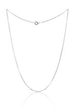 Silver Necklace Chain, Luxury ...