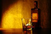 ウイスキー、ブランデー、お酒のイメージ