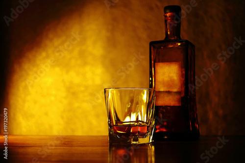 Fotografia ウイスキー、ブランデー、お酒のイメージ