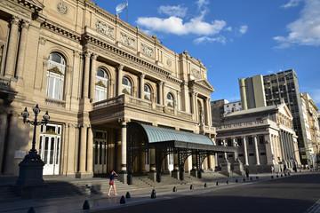 Fototapeta na wymiar Théâtre Colon à Buenos Aires, Argentine