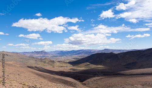 Plakat Pustynny krajobraz Maroko
