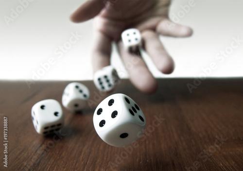Foto Würfel & Glücksspiel