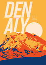 Denali In Alaska Range, North ...