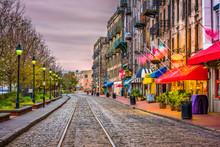 River Street, Savannah, Georgi...