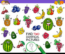 Find Two Identical Fruits Game...