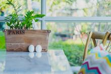Hen And Eggs Ceramic Condiment...