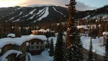 Ski Resort Sunset