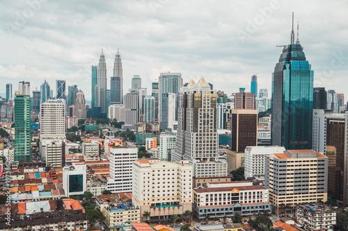 Big buildings in metropolis