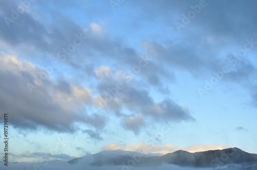 Fotografie, Obraz  Paisagem com nevoeiro