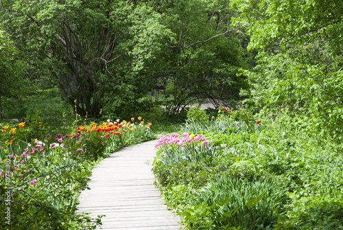Nature landscape, Apothecary garden, Moscow - Buy this stock photo ...
