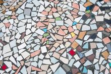 Multi Colored Tile Pattern - A...