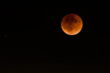 Blood Moon Space Lunar Eclipse