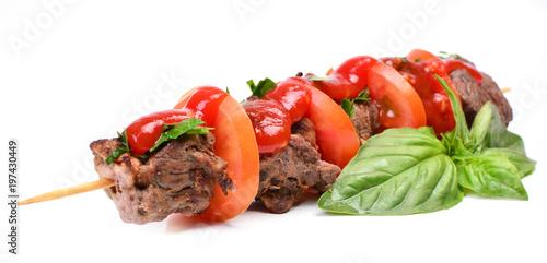 Fresh mutton kebab