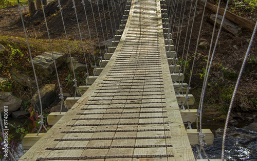 Valokuva  Suspended Trail Bridge