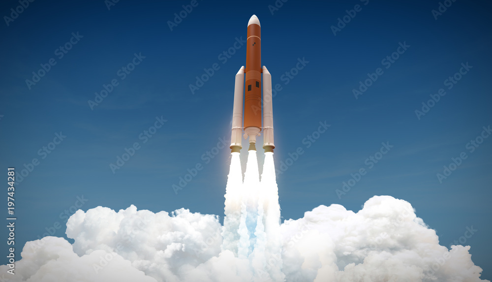 Fotografie, Obraz  rocket launch