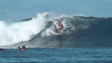 SLOW MOTION: Extreme Surfer Ca...