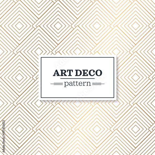 Fotografía  Stylish art deco style scales ornament