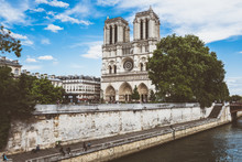 Cathedral Of Notre Dame In Paris