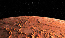 Mars - The Red Planet. Martian...