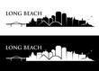 Long Beach skyline - California