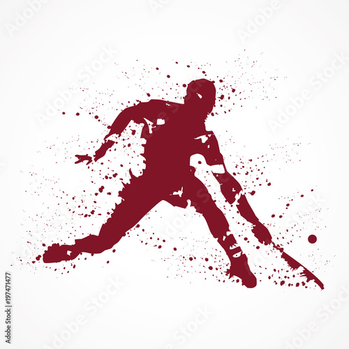 Tennisman-tâches rouges © lil_22