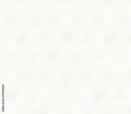 Fotobehang Stof Vector seamless subtle pattern. Modern stylish abstract texture. Repeating geometric tiles