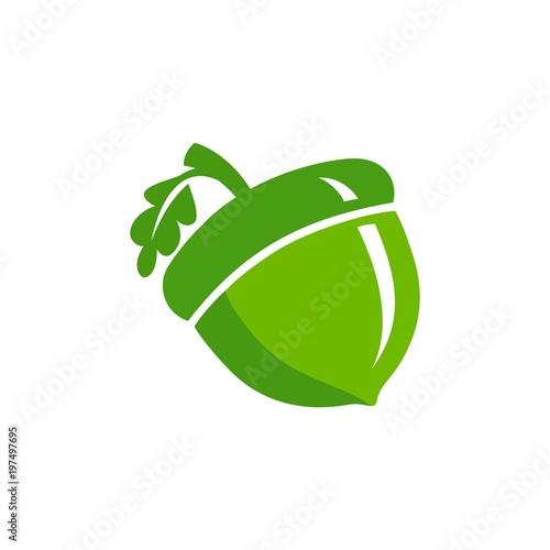 acorn logo vector Wallpaper Mural