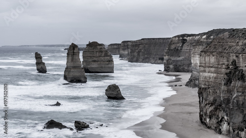 Fotografía  Twelve Apostles, Great Ocean Road, Australia.
