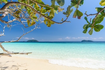 Beautiful beach, seascape,clear water,summer vacation