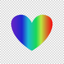 Vector Rainbow Multicolored Gr...