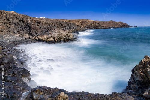 Deurstickers Canarische Eilanden view of lanzarote, Canary Islands