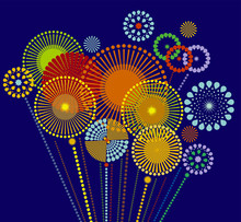 Firework Sparkle Background Ca...