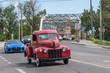 Kanada - Calgary Inglewood Brücke mit Hotrod